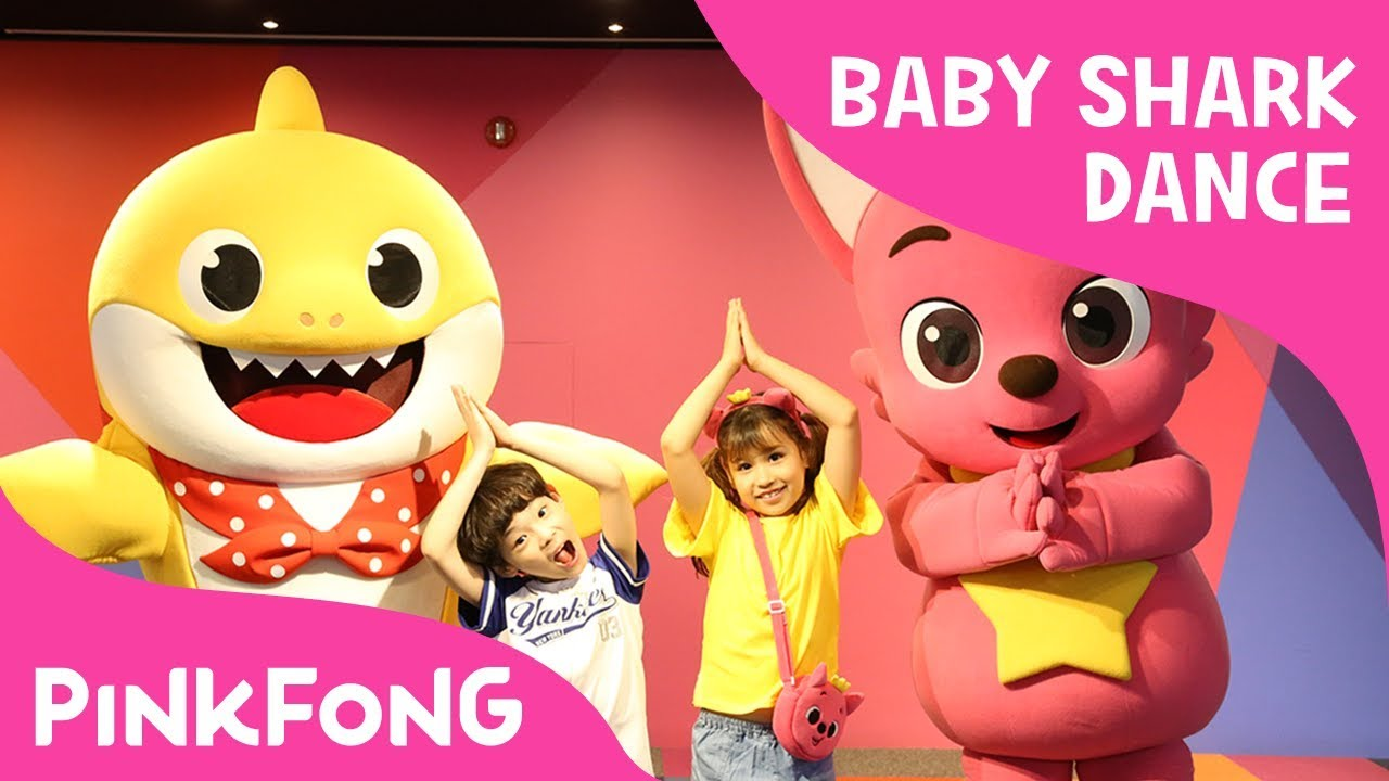 Original Baby Shark Go Babysharkchallenge Special Thank You Video Pinkfong
