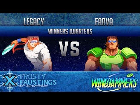 FFX - Windjammers WINNERS QUARTERS - Legacy (Miller, Biaggi) vs Farva (Wessel)