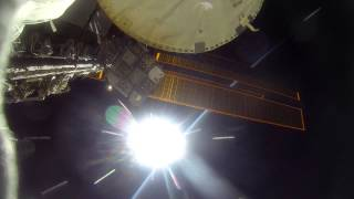 NASA GoPro footage from EVA 31