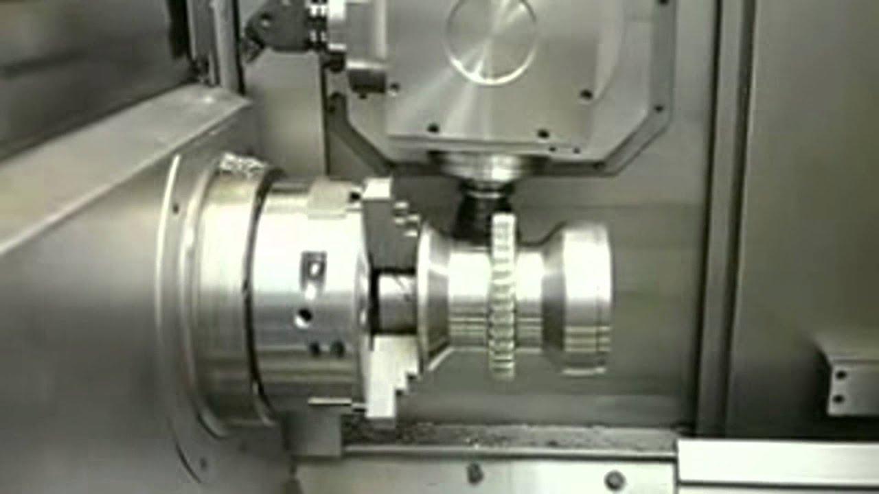 GENYMAB 400 - Taillage Grande Dimension - SOMAB - YouTube