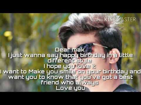 Happy Birthday Wishes Jaan ~ Happy birthday meri jaan mak ❤😘 youtube