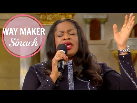 """Way Maker"" by SINACH (Special service with Pastor Benny Hinn and Pastor Chris)"
