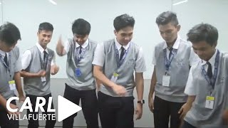 viral ppap pen pineapple apple pen challenge