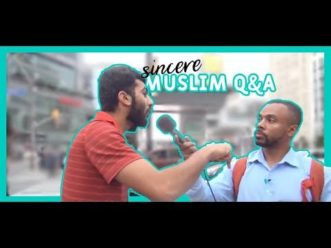 A Muslim with sincere questions