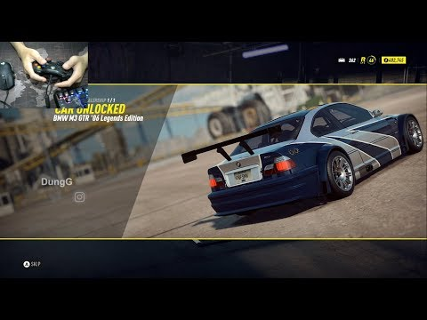 How To Unlock The BMW M3 GTR In NFS Heat