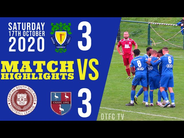 Dunstable Town F.C. vs Crawley Green F.C. (3-3) | League Highlights