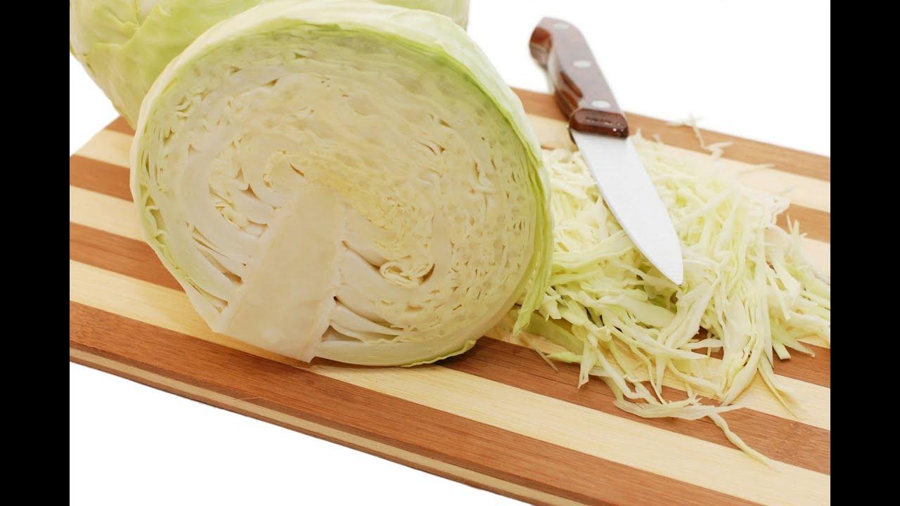 Как правильно нарезать капусту