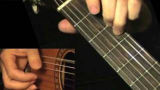 FRANK ACOUSTIC BLUES: Fingerstyle Guitar Lesson + TAB by GuitarNick