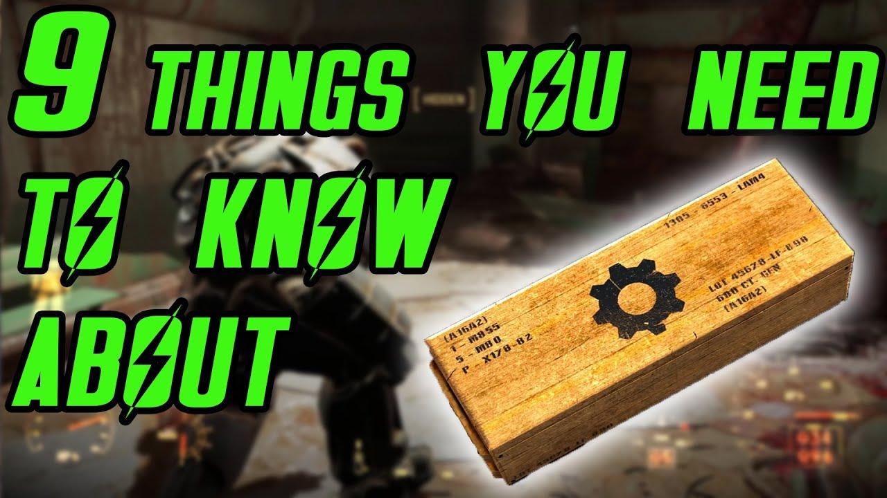Fallout  Max Crafting
