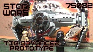 [ОБЗОР ЛЕГО] STAR WARS 75082 - Улучшенный прототип TIE Истребителя