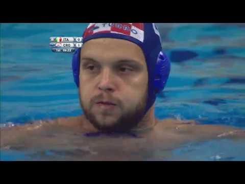 Waterpolo World League SF 2017   Italy -Croatia