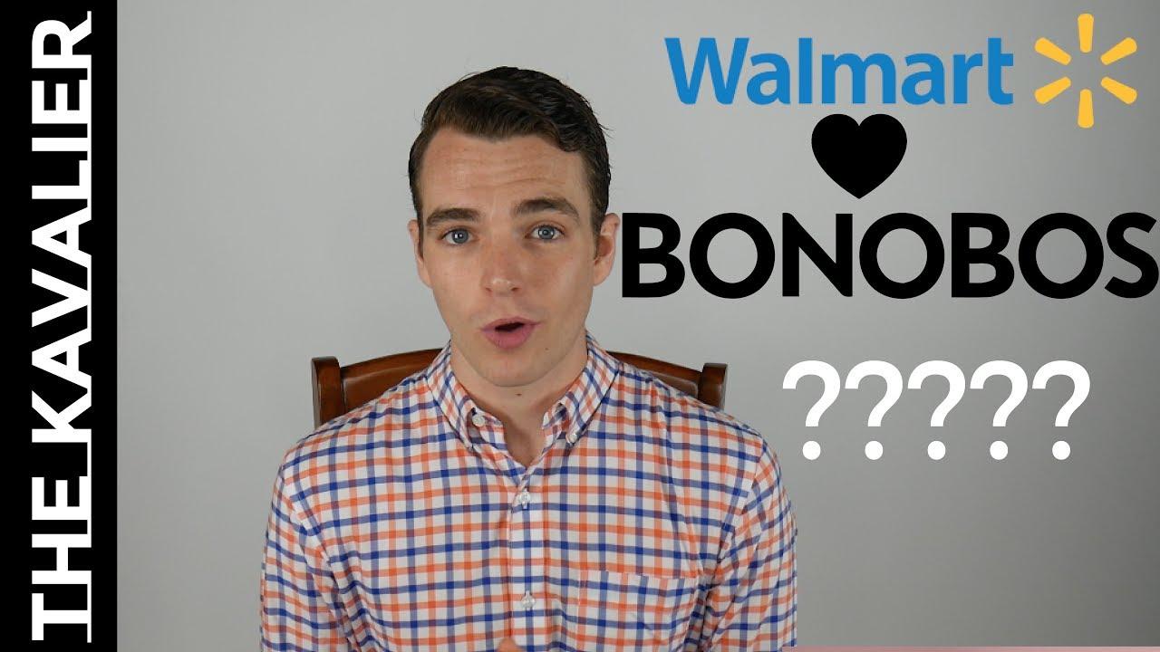 Walmart acquires menswear online retailer Bonobos