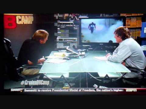 Jon Gruden interveiws BSU