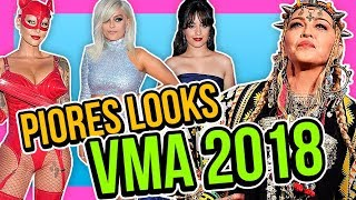 OS PIORES LOOKS DO VMA 2018 | Diva Depressão