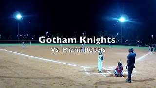 Gotham Knights vs rebels 11-3