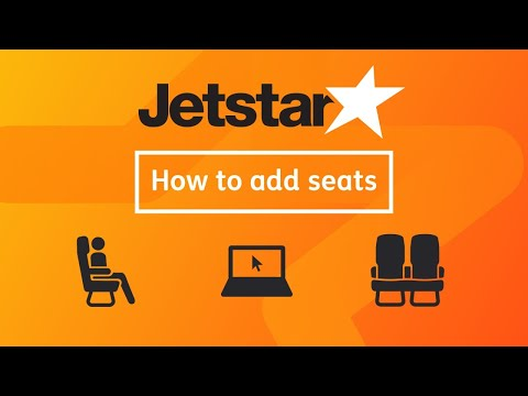 How To Add A Seat To A Jetstar Australia Booking