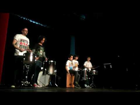 """Performance - Classe de bateria [Iniciação] Academia """"Somnium"""" 2018"""