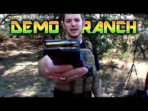 90 Green Tip Penetrators vs Body Armor