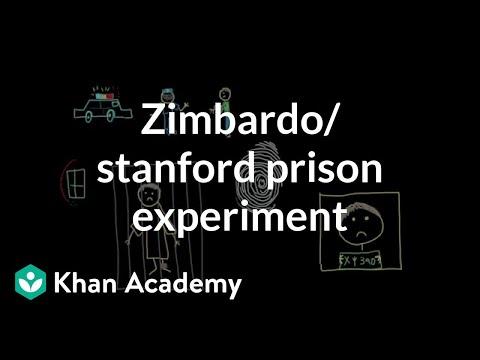 Zimbardo prison study The Stanford prison experiment | Behavior | MCAT | Khan Academy