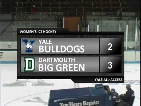 Yale Women's Hockey vs. Dartmouth