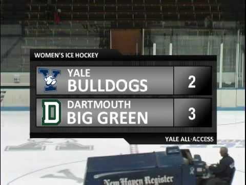 Yale Women's Hockey vs. Dartmouth