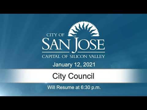 JAN 12, 2021 | City Council Evening Session