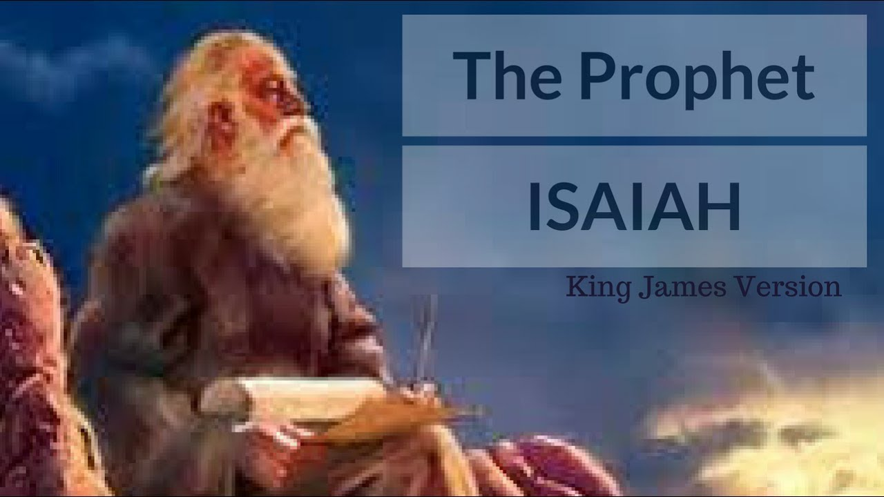 book of prophet isaiah Isaiah was a prophet for the kingdom of judah the futuristic isaiah closes his book by mentioning the glory of a new heavens and new earth in chapters 65-66.