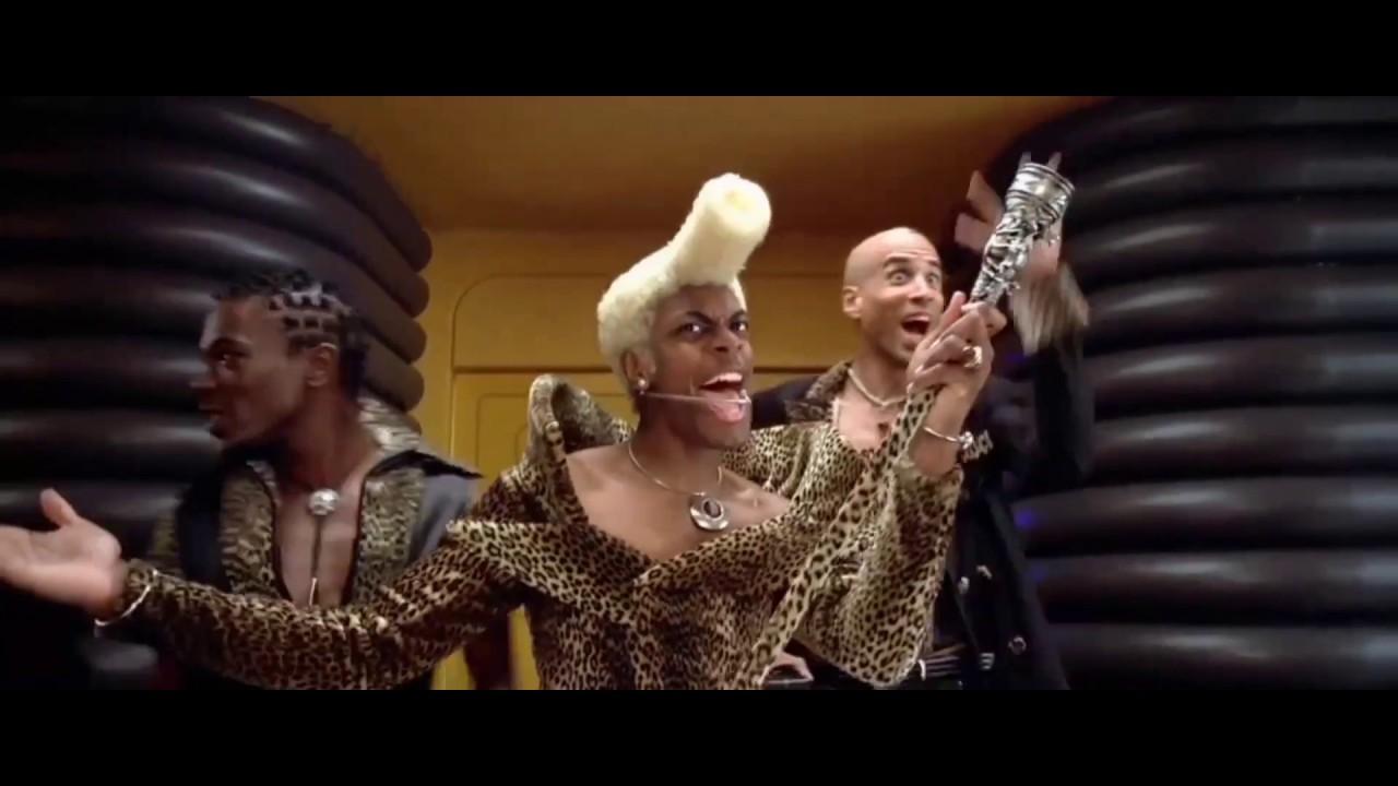 Весьма Эпатажный Ведущий Руби Род ... отрывок из фильма (Пятый Элемент/The Fifth Element)1997