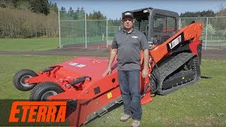 The Beach Master Skid Steer Beach Cleaner Attachment | Eterra Attachments