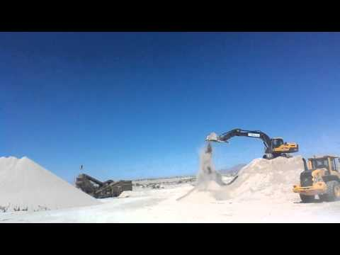 Knolls Natural Gypsum Mining Process
