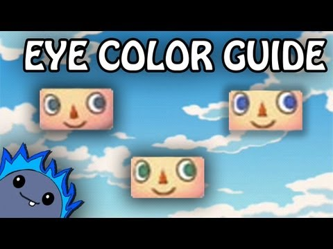 EYE COLOR GUIDE - Animal Crossing: New Leaf