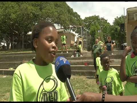 Rugby coaching clinic held near East London