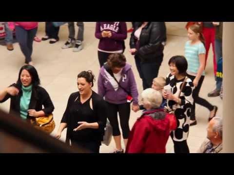 Opera Flash Mob (Opera on the Avalon), Avalon Mall, St. John's, Newfoundland, June 1, 2013