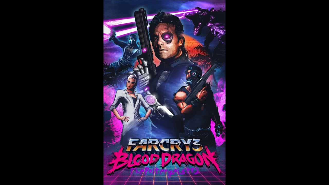 Far Cry 3 Blood Dragon All Sergeant Rex Power Colt Quotes