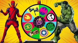 Wrong superheroes puzzle game …