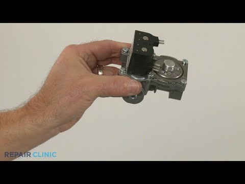 Whirlpool Gas Dryer Gas Valve Assembly Replacement (Model #WGD49STBW2)
