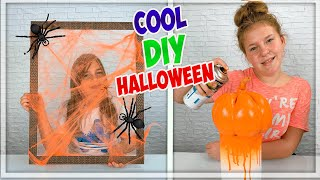 EASY AND COOL DIY HALLOWEEN DECOR IDEAS. HALLOWEEN HACKS .
