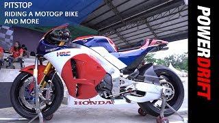 PitStop : Riding A MotoGP Bike & More : PowerDrift