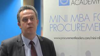 Procurement Leaders Academy - What do you think your company have gained by you being on this course