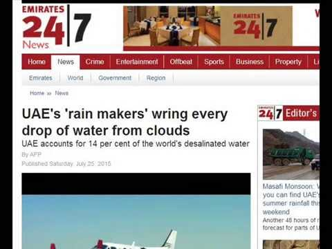 International Weather Wars - July 2015 - Cloud Seeding / Weather Modification