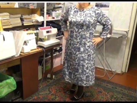 #430. снова трикотажное платье...для себя.с рукавом реглан
