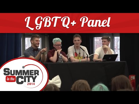 LGBTQ+ Panel with Tyler Oakley - Summer in the City 2014
