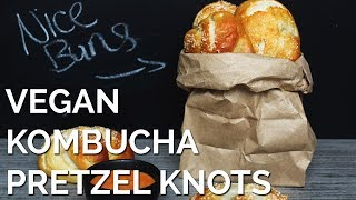 Vegan Kombucha Pretzel Knots | Two Market Girls