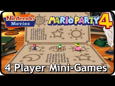 Mario Party 4 - 4 Player Mini-Games