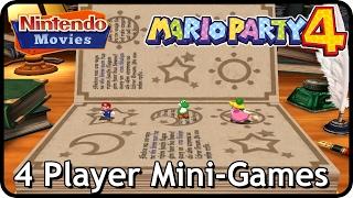 Mario Party 4 - 4 Player Mini-Games