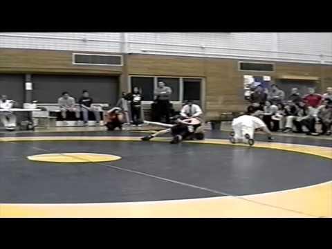2001 Dual Meet: 57 kg Ryan Schedlosky (UofS) vs. Derek Lofstrom (UofA)