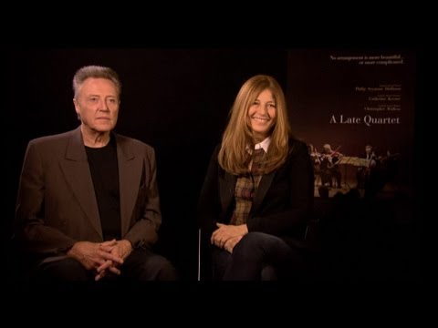 Christopher Walken & Catherine Keener  A Late Quartet  with Tribute at TIFF 2012