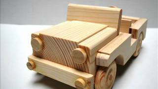 Wooden toy kit -Military Jeep