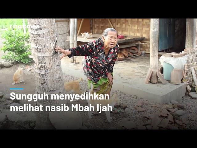 Keinginan Nenek Miskin asal Banyuwangi ini Bikin Kita Nangis