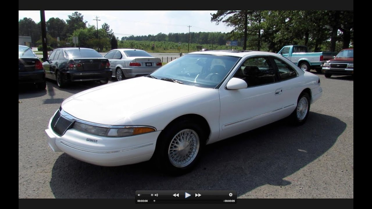 1995 lincoln mark viii start up exhaust and in depth. Black Bedroom Furniture Sets. Home Design Ideas
